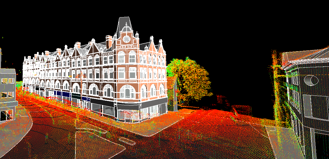 Point Cloud to Revit